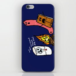 Campfire Tales iPhone Skin