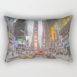 Times Square - New York City Rectangular Pillow