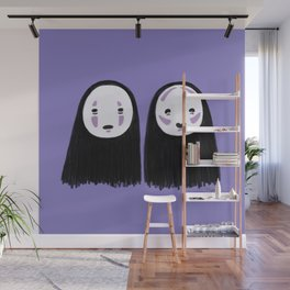 No-face Contour Wall Mural