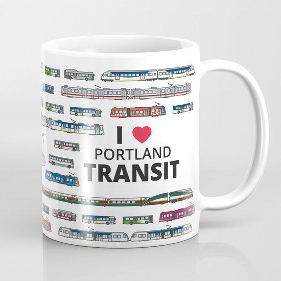 The Transit of Greater Portland Mug