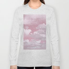 Clouds in a Pink Sky Long Sleeve T-shirt