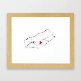 Knickers Framed Art Print