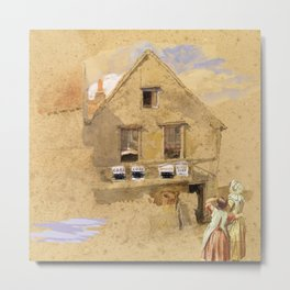 Little House on the Prairie – Country Girls  Metal Print