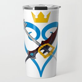 Kingdom Hearts キングダム ハーツ Keyblade Sora and Riku Travel Mug