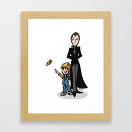 Father & Daughter Framed Art Print