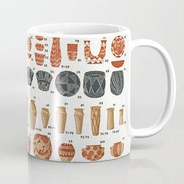 Petrie's Pottery Seriation Coffee Mug