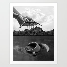 Not Enough Coffee In the World Art Print