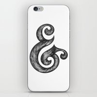 ampersand iPhone & iPod Skins featuring Ampersand by Norman Duenas