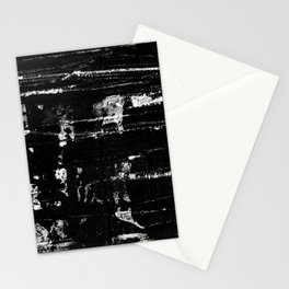Distressed Grunge 102 in B&W Stationery Cards