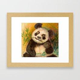 Everybody loves ME: Panda Framed Art Print