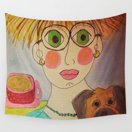 """Tallulah's World"" Wall Tapestry"