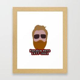 Ryan Dunn Framed Art Print