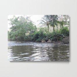 Where the River Runs Metal Print