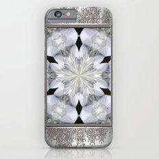 White Arctic Queen Kaleidoscope Slim Case iPhone 6s
