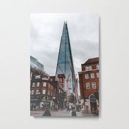 The Shard London England United Kingdom Metal Print