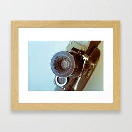 Vintage old movie Super-8 camera Framed Art Print