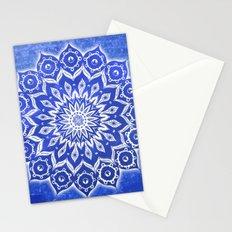 okshirahm, blue crystal Stationery Cards