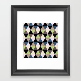 Heavy Green Framed Art Print