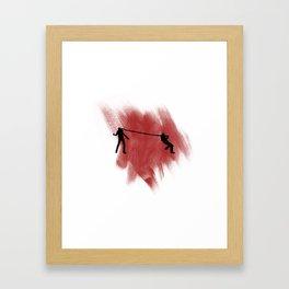 Smoker! Framed Art Print