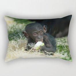 Lola The Bonobo Baby Rectangular Pillow