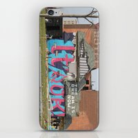 detroit iPhone & iPod Skins featuring Detroit by Dylan McPhee