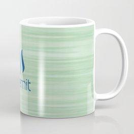 Steemit on Green Coffee Mug