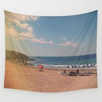 spanish Wall Tapestries featuring Spanish Sunbathers by ZBOY