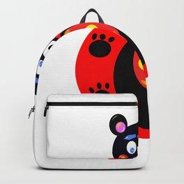 Bear sunset Backpack