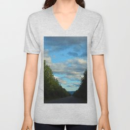 Mountain Road Unisex V-Neck