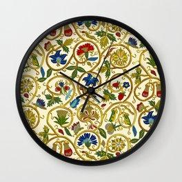 Embroidered Elizabethan / Jacobean Jacket Wall Clock