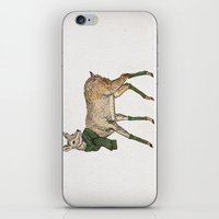 deer iPhone & iPod Skins featuring Deer by David Fleck