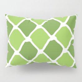 Green Diamond Pattern Pillow Sham