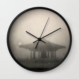 Korean Friendship Bell San Pedro Ca. Wall Clock