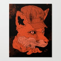 Fox Conductor  Canvas Print