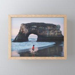 Arch Rock - 35mm Film Framed Mini Art Print