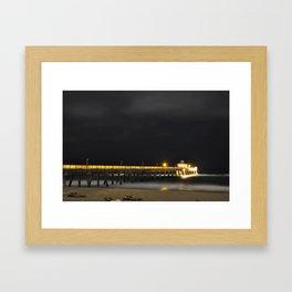 Hillsboro Peir Framed Art Print