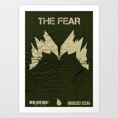 The Cobra Unit - The Fear Art Print