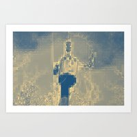 funky Art Prints featuring Funky  by Vanessa Hargens