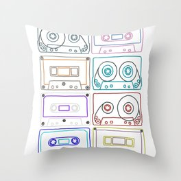 Awesome mixes #3 Throw Pillow