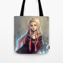 Icy Heart Tote Bag