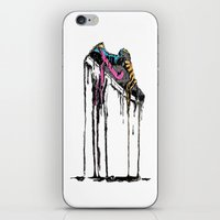 shoe iPhone & iPod Skins featuring SHOE by maivisto