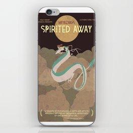 Minimalist Spirited Away iPhone Skin