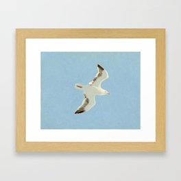 Sky Blue Sky - A Framed Art Print