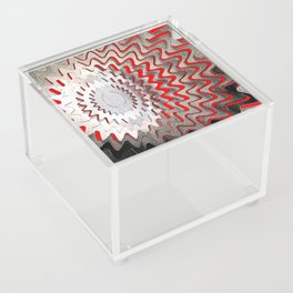 Abstract - red Acrylic Box