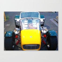 caterham, super seven, super 7, Lotus, classic cars, car, sports cars, british car, Canvas Print