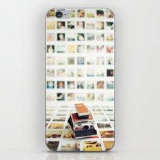 Polaroid Wall iPhone & iPod Skin