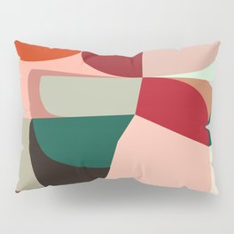 Geometric shapes Pillow Sham