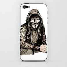 Anonymous Gangster iPhone & iPod Skin