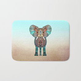 BOHO SUMMER ELEPHANT Bath Mat