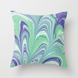 Marbling Throw Pillow